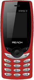 Reach Champ i3 Pack of 2 (Dual Sim, 1.8Inch, FM, Bluetooth) Multimedia Mobile Phone with 1 Year Manufacturing warranty