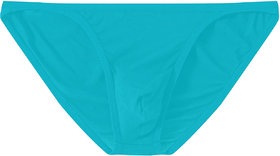 The Blazze Men's Soft High Rise G-String Underwear Sexy High Coverage Back Briefs