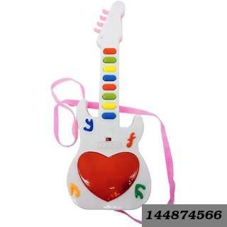 Music Mini Guitar Toy For Kids (Multicolor)