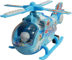 Flashing 3D LED Light with Music Helicopter Toy by MySale