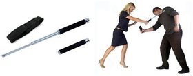 Jain Gift Gallery Telescopic Self Defence Tactical Rod Heavy Metal And Exta