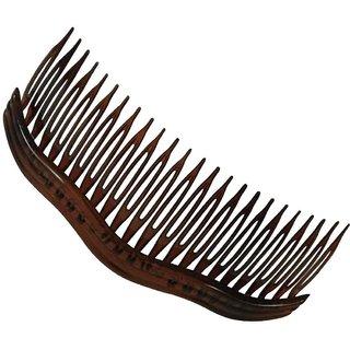 24 Teeth Plastic Wavy Design Hair Side Comb