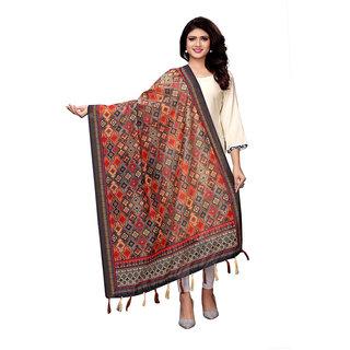 Swaron Multicolor Poly Silk Digital Printed Dupatta
