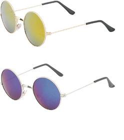 Amora Round Sunglasses combo