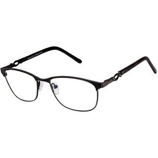 Cardon Matte Black Rectangular Full Rim Spectacle Frames