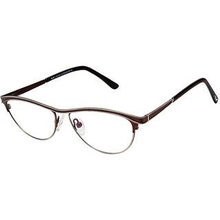 Cardon Brown Cateye Full Rim Spectacle Frames
