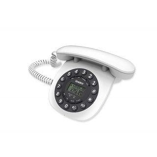 UNIDEN AT8601 white Corded Landline Phone with Speakerphone Caller ID