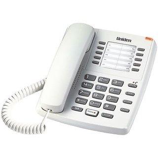 UNIDEN AS7201 white Corded Landline Phone