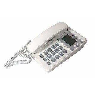 UNIDEN AS6404 white Corded Landline Phone with Speakerphone Caller ID FSK / DTMF