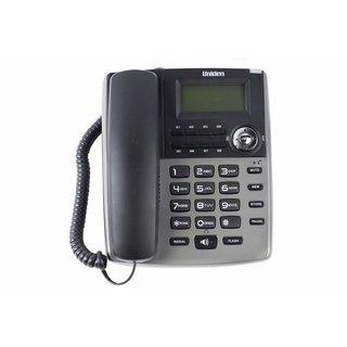UNIDEN AS7401 Titanium Corded Landline Phone with Speakerphone Caller ID