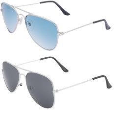 Amora Aviator Sunglasses combo