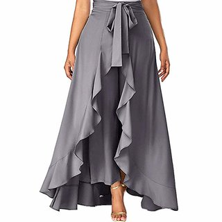 Voeux India Ruffle trouser for women's