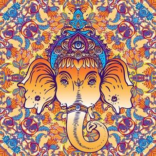 God ganesh 2 Poster |God Poster for Room|Religious Poster|Poster for any Room|HD Poster for Home,Office,Gym Decor|Sticker Paper Print By 5 Ace
