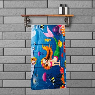 HomeStore-YEP Baby Towel- Ultra Soft- Quick Dry- Skin Friendly-Cartoon Charactor Pack of 1 for Infants and Babies