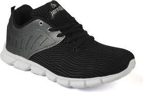 Jaisco Men's Black Sports Shoes