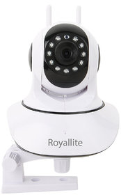 Royallite HD IP Wifi CCTV Indoor Security Camera,(White Color)