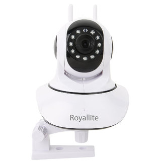 Royallite HD IP Wifi CCTV Indoor Security Camera (White Color)