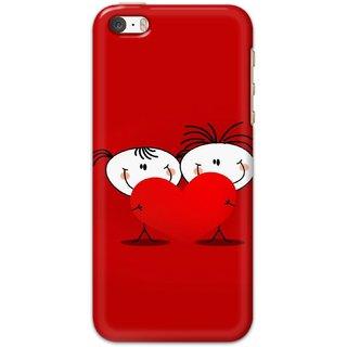 Ezellohub Back Cover For  iPhone 5 -