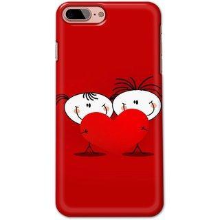Ezellohub Back Cover For  Iphone 8 Plus -