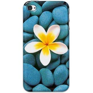 Ezellohub Back Cover For  iPhone 4 -