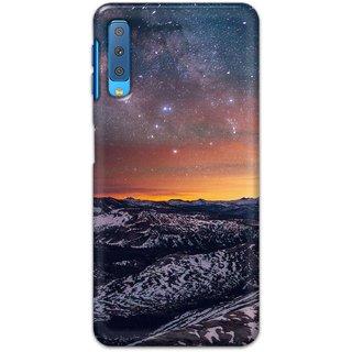 Ezellohub Back Cover For Samsung Galaxy A7 2018 -