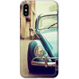 Ezellohub Back Cover For  Iphone X -