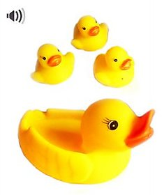 Bath Toy Duck B Pck Of 4