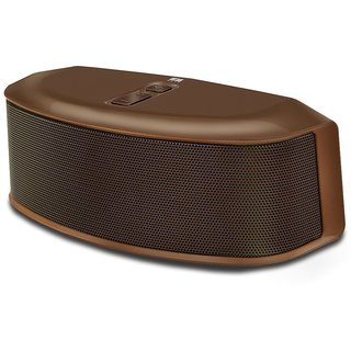 Iball Soundstar BT9 Portable Bluetooth Mobile/Tablet Speaker   Brown, Stereo Channel