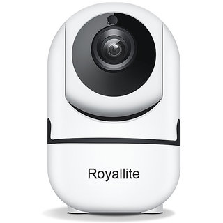 Royallite Wireless Security WiFi Camera Camera for Home Security Surveillance with PTZ Two Way Audio Motion Detection Ni
