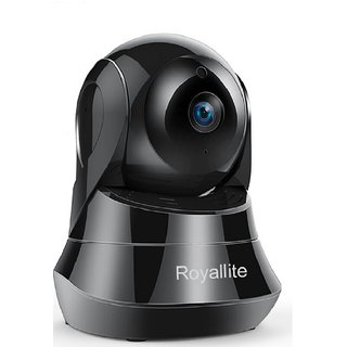 Royallite WiFi Wireless Camera 1080P with Remote Viewing Indoor Pan/Tilt Security IP Camera Baby Monitor Plug  Play, 2