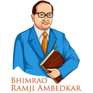 stickerBhimrao ramji ambedkar |God Poster for Room|Religious Poster|Poster for any Room|HD Poster for Home,Office,Gym Decor|Sticker Paper Print By 5 Ace