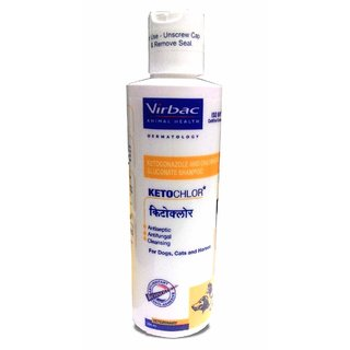 Virbac Ketochlor Pet Shampoo (200 ml)