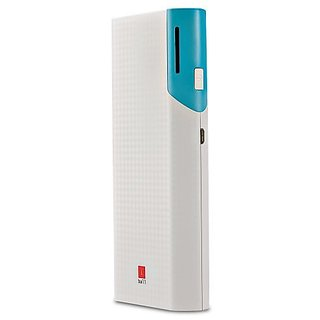 Iball PB 10017 Dual USB Port Slim Light Weight 10000 mAh Power Bank  Multicolor, Lithium ion