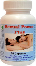 Tonga Herbs Carnel Power Plus Capsules - 60 Capsules (Buy Any Supplement Get The Same 60ml Drops Free)