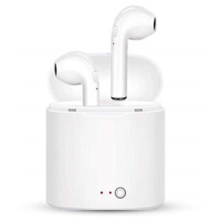 Amazeexpress I7 Mini In The Ear Wireless Bluetooth Earphone Stereo Earbuds Headset With Dock Box Twins