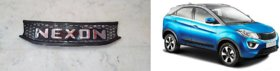 Front Bumper Grill for Tata NEXON (Black with Alpha Latter In Chrome Color)