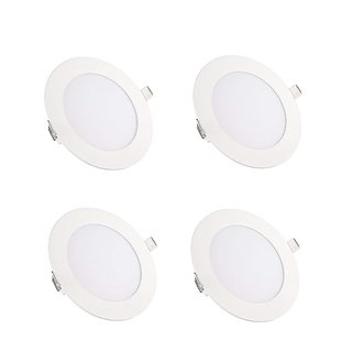 NIPSER 7 Watt LED Concealed Light, Cool Day Light, Premium Quality (Pack of 4)