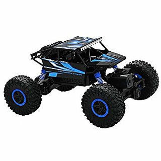 DY Rock Leader 2.4Ghz 1/18 RC Rock Crawler Buggy Car 4 WD Shaft Drive Remote Control Monster Off Road (MultiColor)