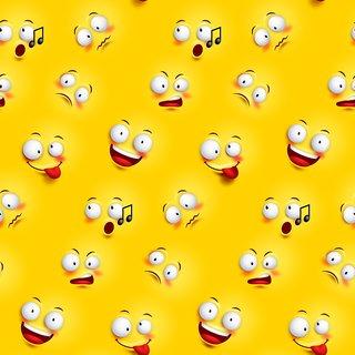 emojiset1  |Sticker Paper Poster, 12x18 Inch