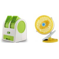 Air conditioner Mini cooler and Clip Fan comaptiable with all Smart phone     Mini cooler   Mini Air conditioner    Mini AC    Portable Fan   Mini fresh Air cooler    High speed cooler