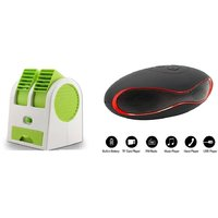 Air conditioner Mini cooler and Rugby bluetoth speaker comaptiable with all Smart phone  || Mini cooler|| Mini Air conditioner || Mini AC || Portable Fan|| Mini fresh Air cooler || High speed cooler