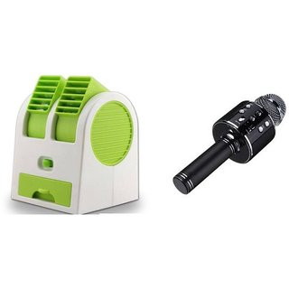 Air conditioner Mini cooler and WS858 mic comaptiable with all Smart phone     Mini cooler   Mini Air conditioner    Mini AC    Portable Fan   Mini