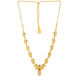 613b0af9b GoldNera Gold plated Designer Traditional Indian Classy Necklace For Women