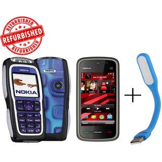 Refurbished Nokia  3220+ Nokia 5233+USB LED