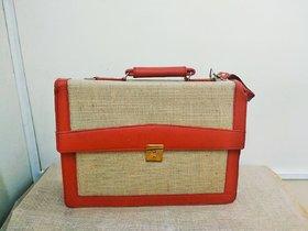 Jute Executive Office Laptop Bag
