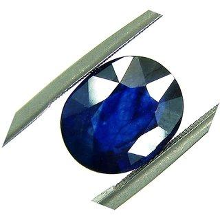 Blue Sapphire Gemstone Unheated Untreated Certified Natural 100 Original Neelam Stone 6.50 Ratti by Gurpreet Gems