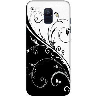 Digimate Printed Designer Hard Plastic Matte Mobile Back Case Cover For Samsung Galaxy A6 Design No. 0483