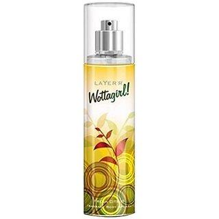 Layerr Wottagirl Fresh Citrus Perfume Body Spray 135ML Each Pack of 6