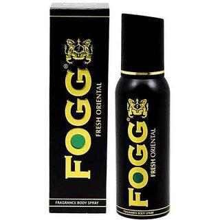 Fogg Deodorant-Fresh Oriental Black Series For Men,100 gm