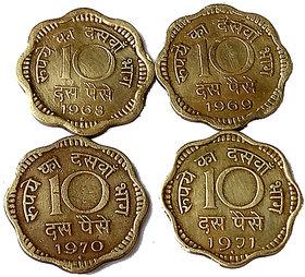 ten piece 4 coins set